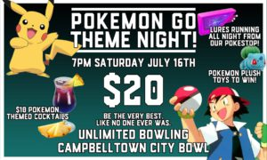 The Promo Material For Pokemon Go Theme Night